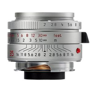Leica 35mm f/2.0 Summicron-M ASPH Silver (11882)