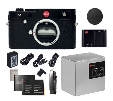 ::: USED ::: Leica M (Typ 240) Digital Range Finder Body (Black) (99.99% As Brand New-792)