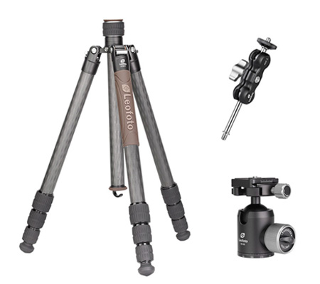 Leofoto Urban LX-284CT Tripod + XB-38 Ball Head + AM-2