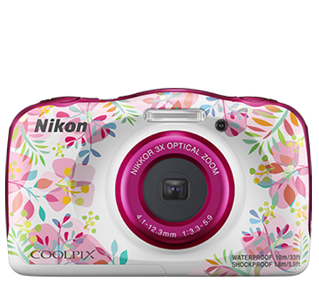 Nikon Coolpix W150 Waterproof Digital Camera Pink