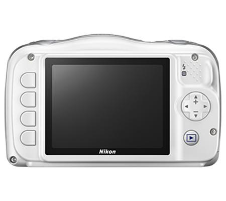 Nikon Coolpix W150 Waterproof Digital Camera White