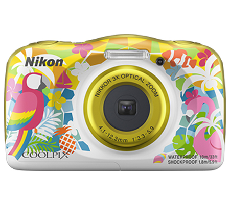 Nikon Coolpix W150 Waterproof Digital Camera Yellow