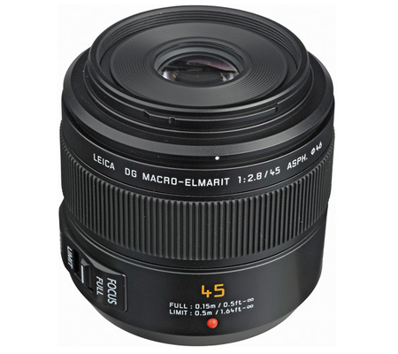 Panasonic Leica DG Macro-Elmarit 45mm f/2.8 ASPH MEGA O.I.S