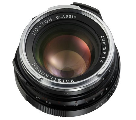 Voigtlander for Leica M 40mm f/1.4 Nokton.