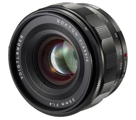 Voigtlander for Sony E Nokton Classic 35mm f/1.4 Lens