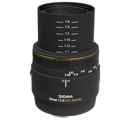 Sigma for Canon 50mm f/2.8 MACRO EX DG