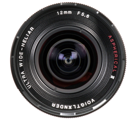 Voigtlander for Sony E Ultra Wide-Heliar 12mm f/5.6 Aspherical III Lens