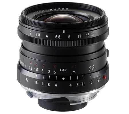 Voigtlander for Leica M 28mm f/2.0 Ultron