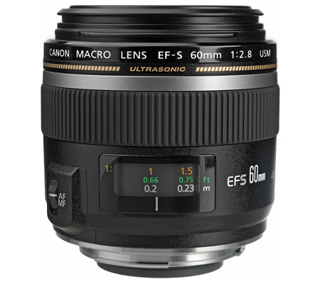 Canon EF-S 60mm f/2.8 USM Macro.