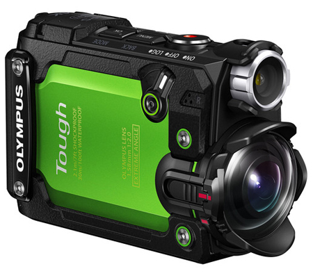 Olympus Stylus Tough TG-Tracker Green