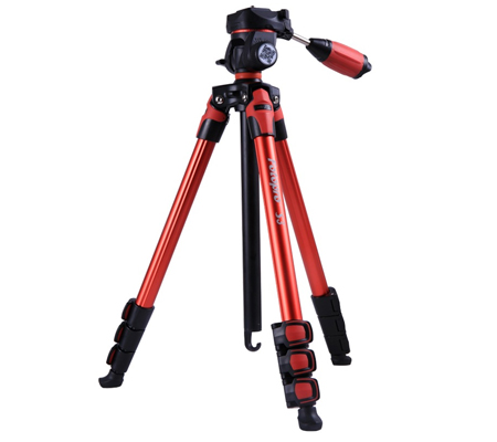 Fotopro S3 Photo Tripod Red.