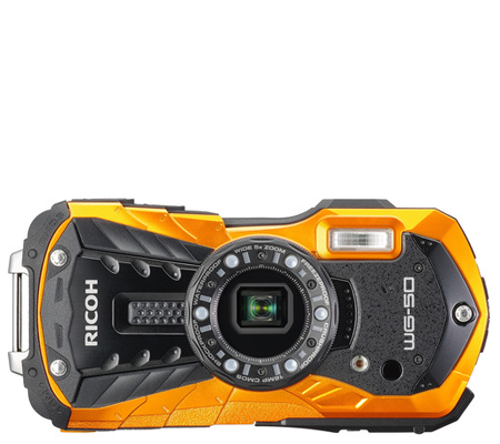 Ricoh Waterproof WG-50 Orange