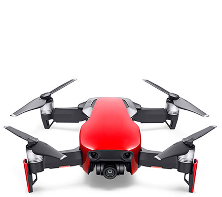 DJI Mavic Air Onyx Flame Red