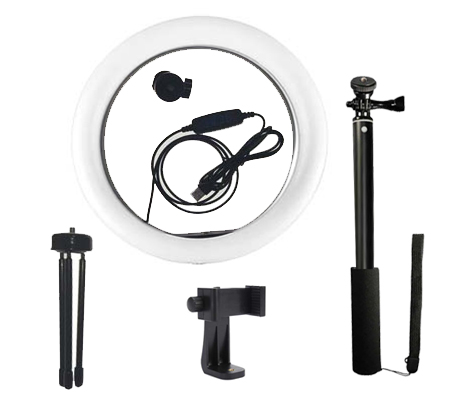 FotoPlus RL-10 Ring Light Bi Color Combo Kit