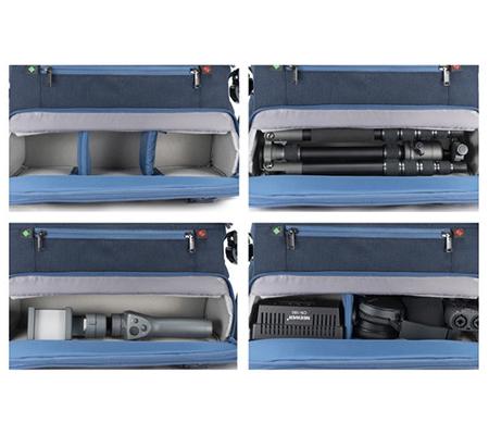 Vanguard Veo Range 36M Medium Messenger Camera Bag Navy Blue