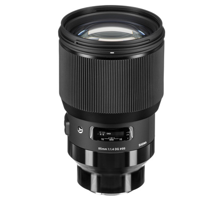 Sigma For Sony E 85mm f/1.4 DG HSM Art (A)