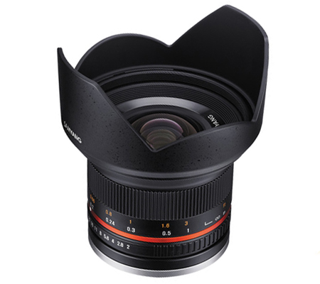 Samyang 12mm f/2.0 NCS CS Lens for Fujifilm X-Mount
