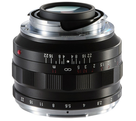 Voigtlander for Leica M Nokton 40mm f/1.2 Aspherical Lens