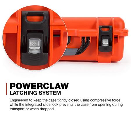 Nanuk 925 Case with Padded Dividers Orange