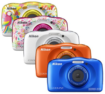 Nikon Coolpix W150 Waterproof Digital Camera Orange