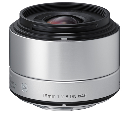 Sigma for Sony E Mount 19mm f/2.8 DN AF Silver