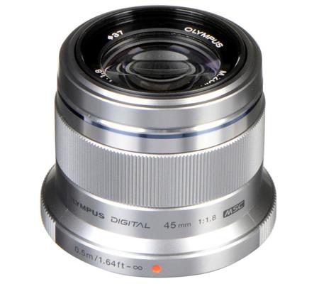 Olympus M.Zuiko Digital 45mm f/1.8 Silver