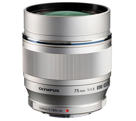 Olympus M.Zuiko Digital ED 75mm f/1.8 Silver