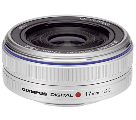 Olympus M.Zuiko Digital 17mm f/2.8 Silver