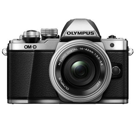 Olympus OM-D E-M10 Mark II Kit 14-42mm F3.5-5.6 EZ Silver