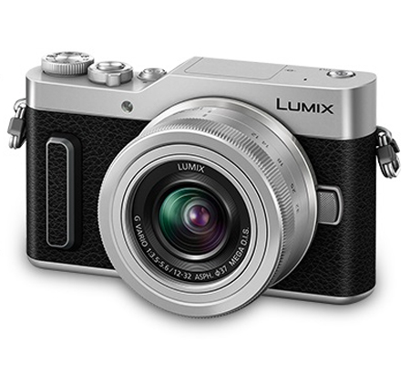 Panasonic Lumix DC-GF10 Kit Lumix G Vario 12-32mm f/3.5-5.6 Silver