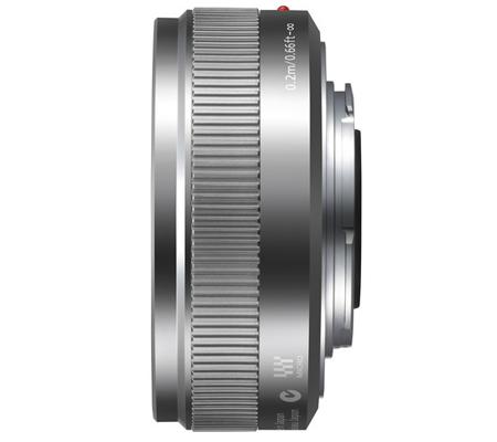 Panasonic Lumix G 20mm f/1.7 II ASPH Silver