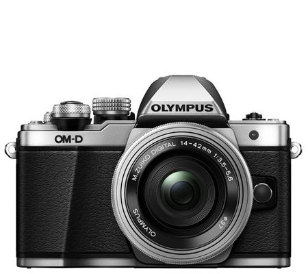 Olympus OMDEM10 Mark II Kit 14-42mm F3.5-5.6 EZ Silver