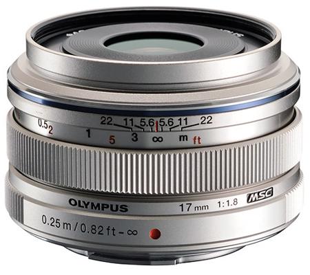 Olympus M.Zuiko Digital 17mm f/1.8 Silver