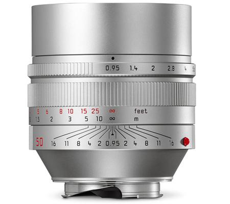 Leica 50mm f/0.95 Noctilux-M ASPH Silver (11667)