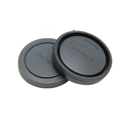 ::: USED ::: 3rd Brand Body Cap and Rear Cap for Sony E Mount Camera (Excellent To Mint)