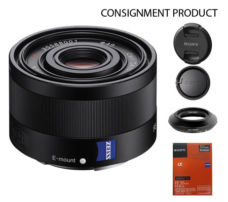 :::USED:::Sony FE 35mm f/2.8 ZA Sonnar T* Exmint Kode 762 Consignment