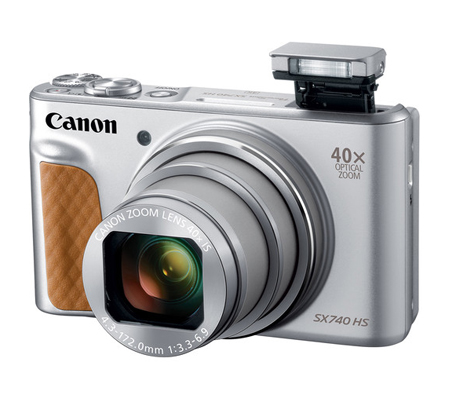 Canon PowerShot SX740 HS Digital Camera (Silver)