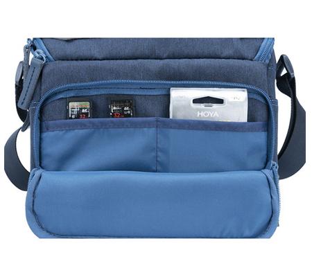 Vanguard Veo Range 21M Small Messenger Camera Bag Navy Blue