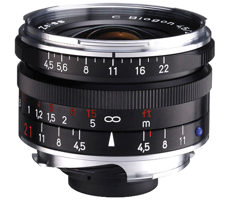Zeiss for Leica M C Biogon T* 21mm f/4.5 ZM Black