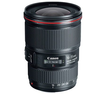 Canon EF 16-35mm f/4L IS USM.