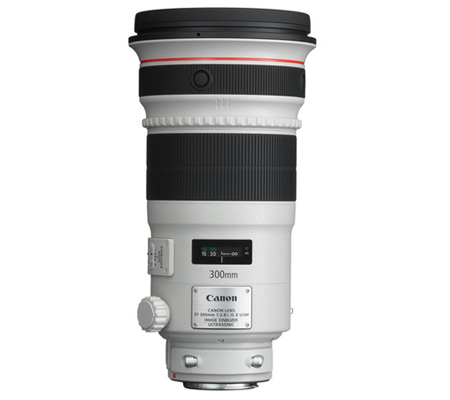 Canon EF 300mm f/2.8L IS II USM.