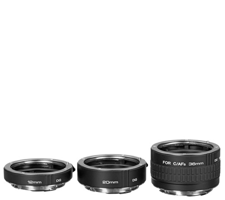 Kenko Extension Tube Set (12mm, 20mm, 36mm) 3 Ring for Canon.