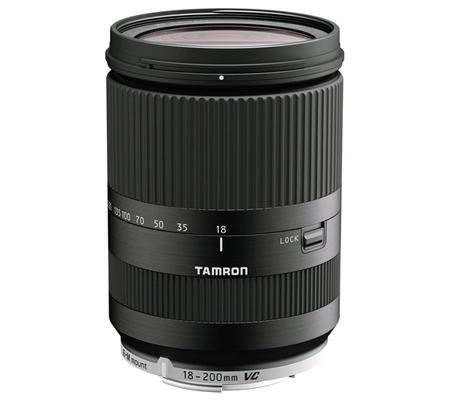 Tamron for Canon EOS M Camera 18-200mm f/3.5-6.3 Di III VC.