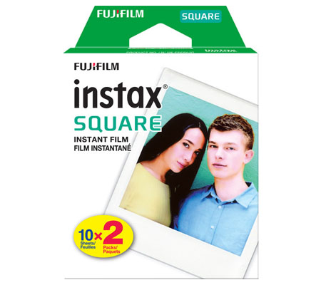 Fujifilm Instax Square Paper Twin Pack (20 sheet)