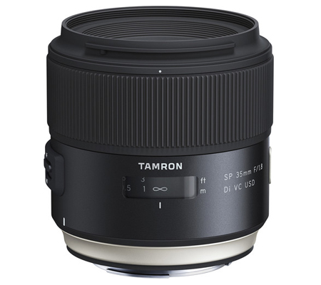 Tamron for Canon SP 35mm f/1.8 Di VC USD Lens