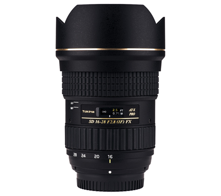 Tokina for Canon AT-X 16-28mm f/2.8 PRO FX Zoom