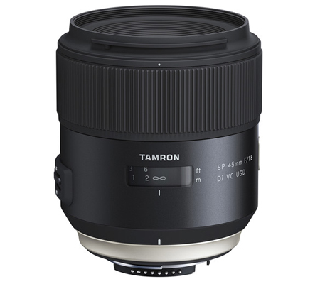 Tamron for Nikon SP 45mm f/1.8 Di VC USD