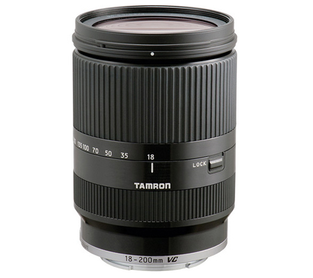 Tamron for Sony E Mount AF 18-200mm f/3.5-6.3 Di III VC