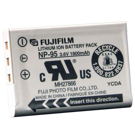 Fujifilm NP-95 Battery  for Fujifilm X100T/ X100S/ X100  X30  X-S1  FinePix F31FD