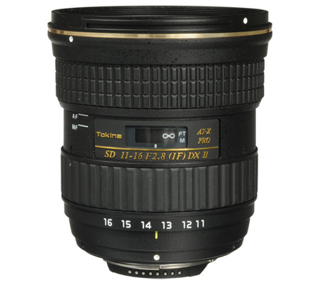 Tokina for Nikon AF 11-16mm f/2.8 Pro DX II (Built in Motor)